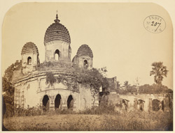 General view of the Awasghar Temple, Medinipur [Midnapur] 1000333426
